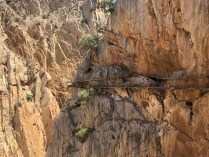 Caminito del Rey the old & new paths