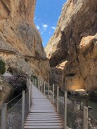 Caminto del Rey looking back