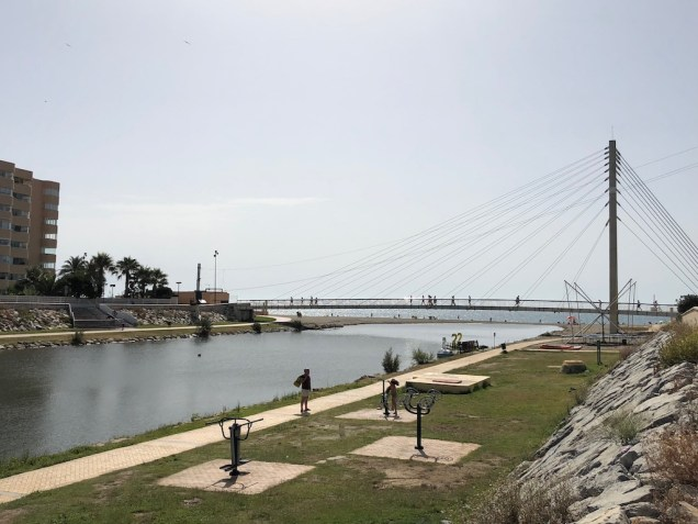 Fuengirola suspension bridge