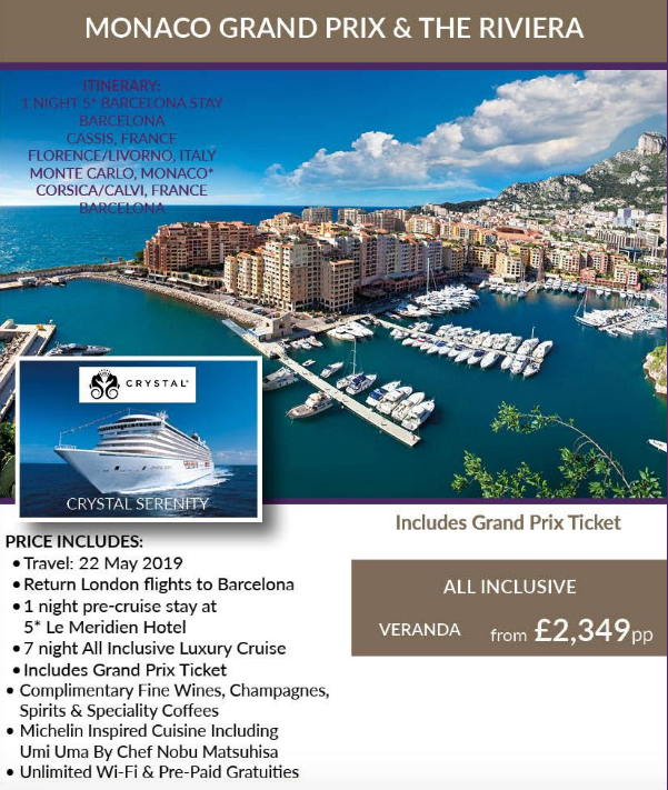 Monaco Grand Prix and Riviera