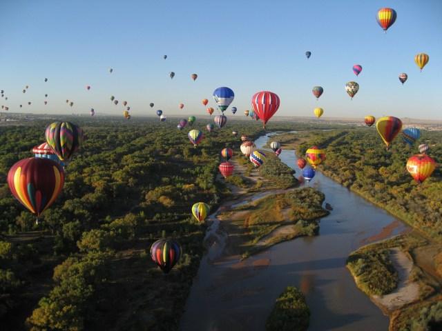 New Mexico Balloon Festival - Fall in America
