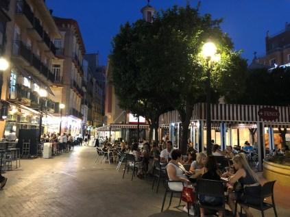 Plaza de las Flores Murcia
