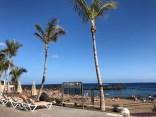 Playa Chica sunbeds