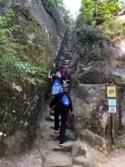 The path up Roccamalatina