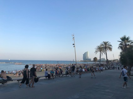 Paseo Maritim Barceloneta