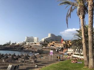 Bobo beach and promenade