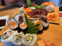 Yamatori sashimi and sushi