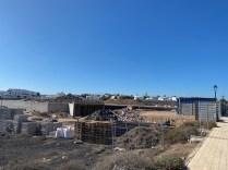 Construction site opposite