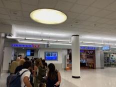 Communitel bag drop in Miami airport
