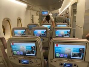 Emirates Economy IFE