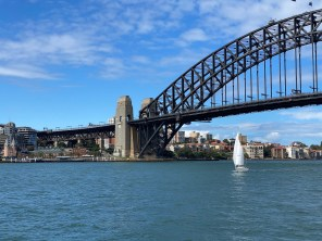 Sydney Harbour Bridge from the water