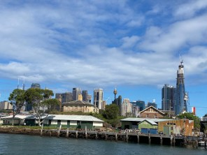 Sydney waterfront from the ferry