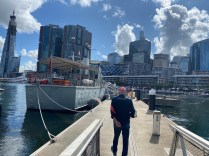 Volunteer tour at the Maritime Museum