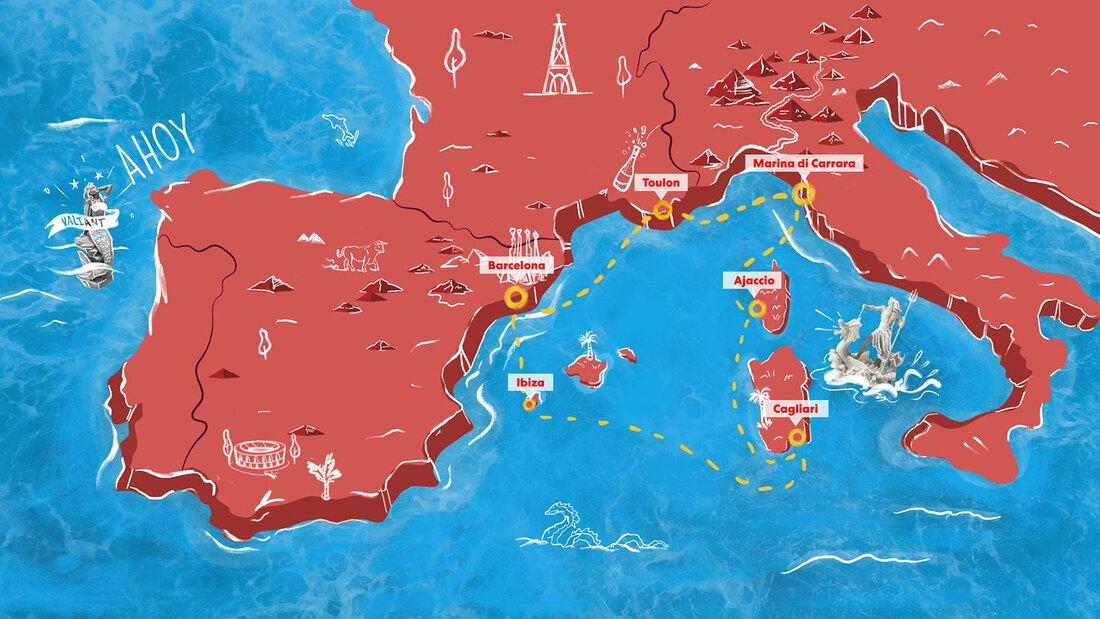 Virgin Voyages Irresistible Med
