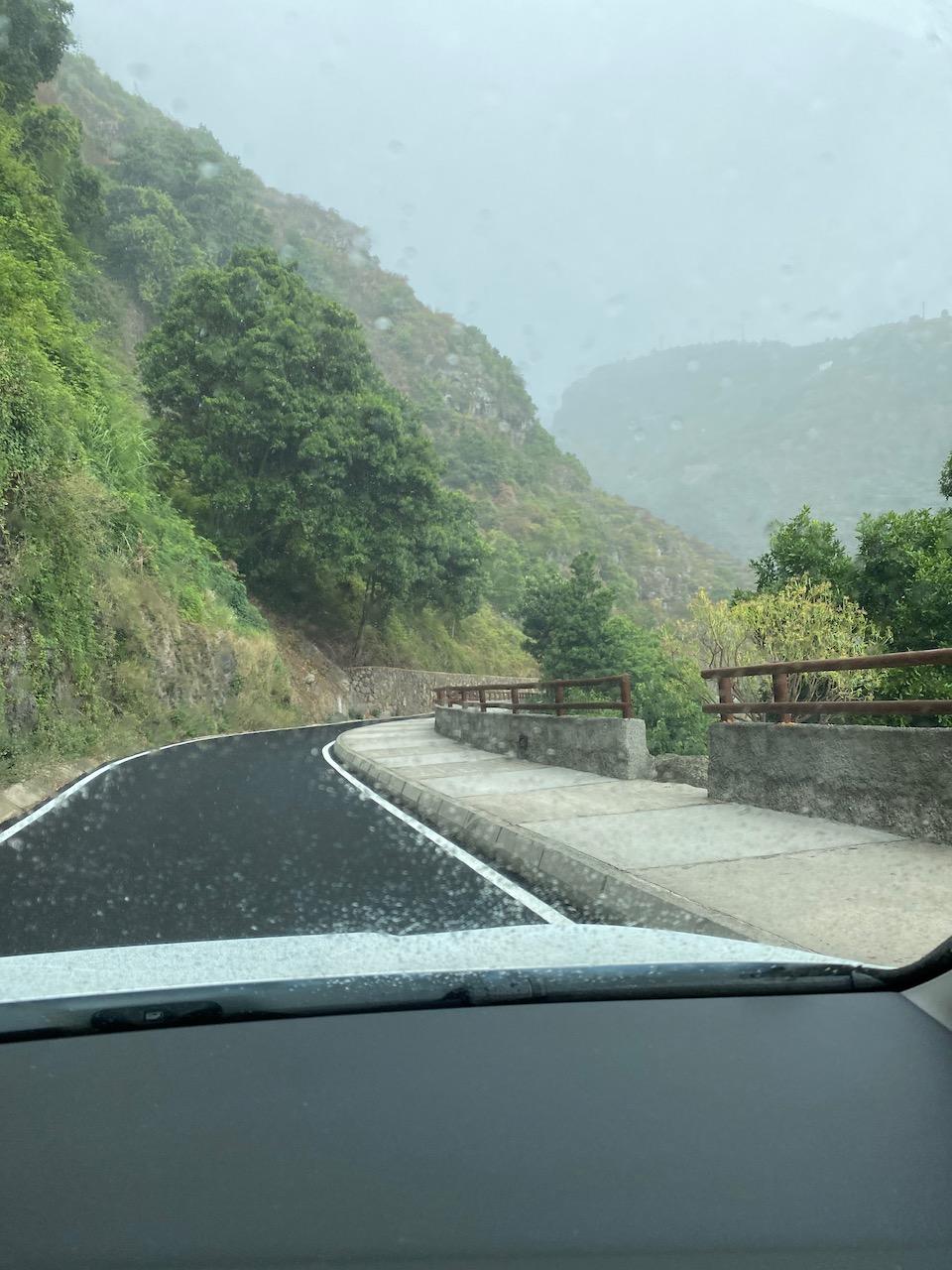 Change of weather in La Palma