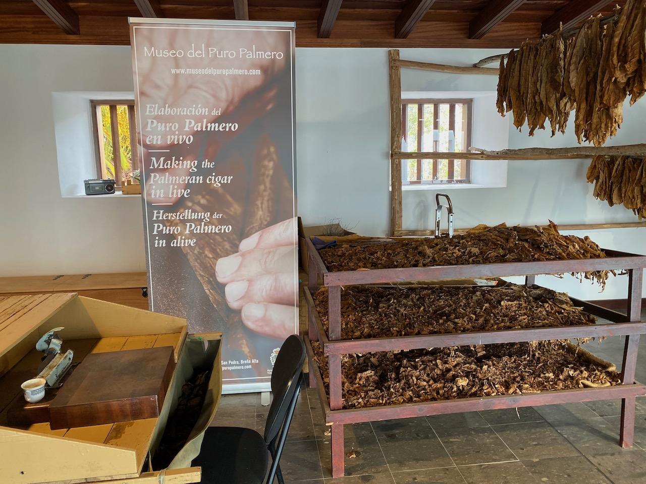 Cigar production exhibition