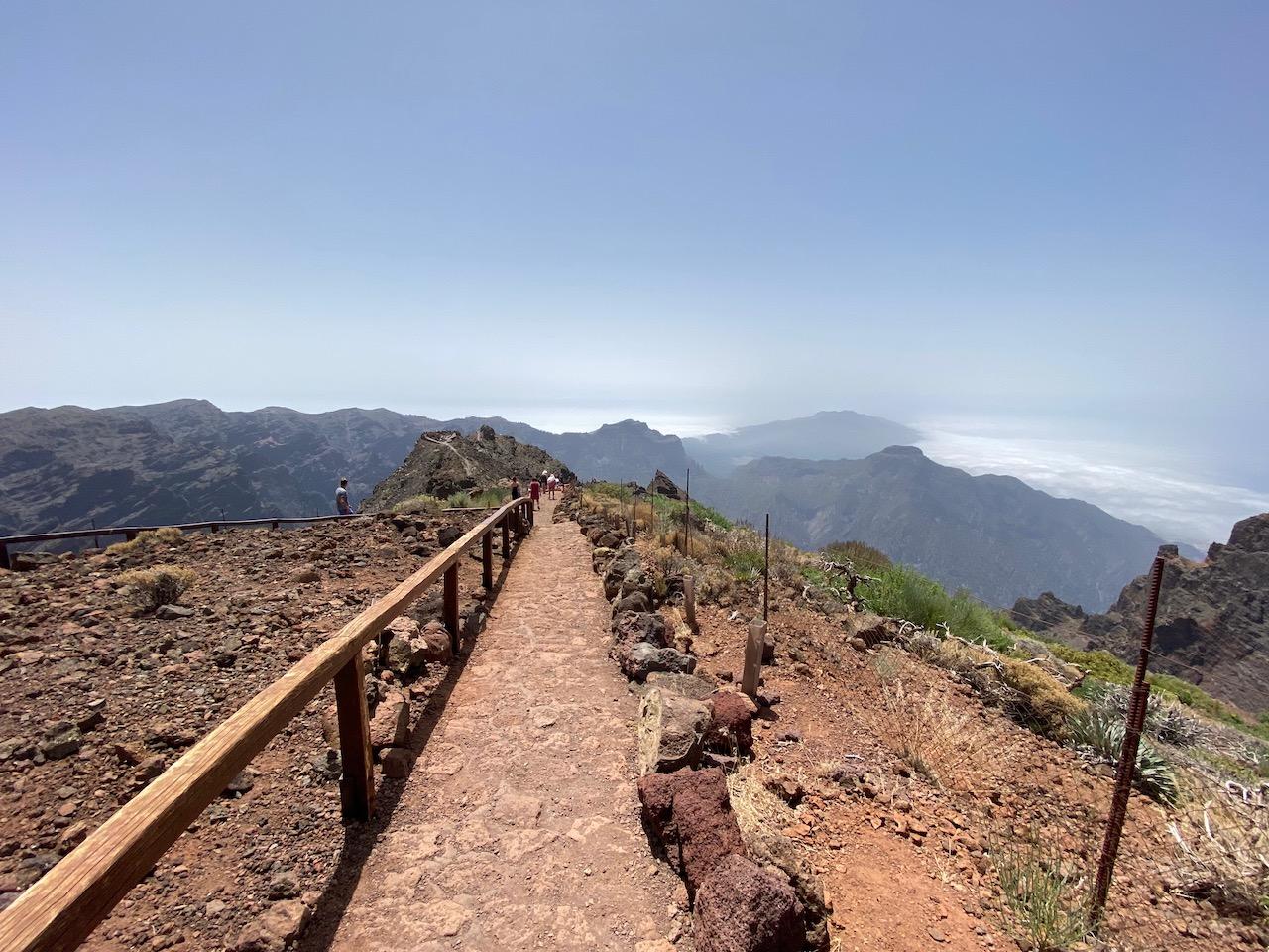 On the top of La Palma