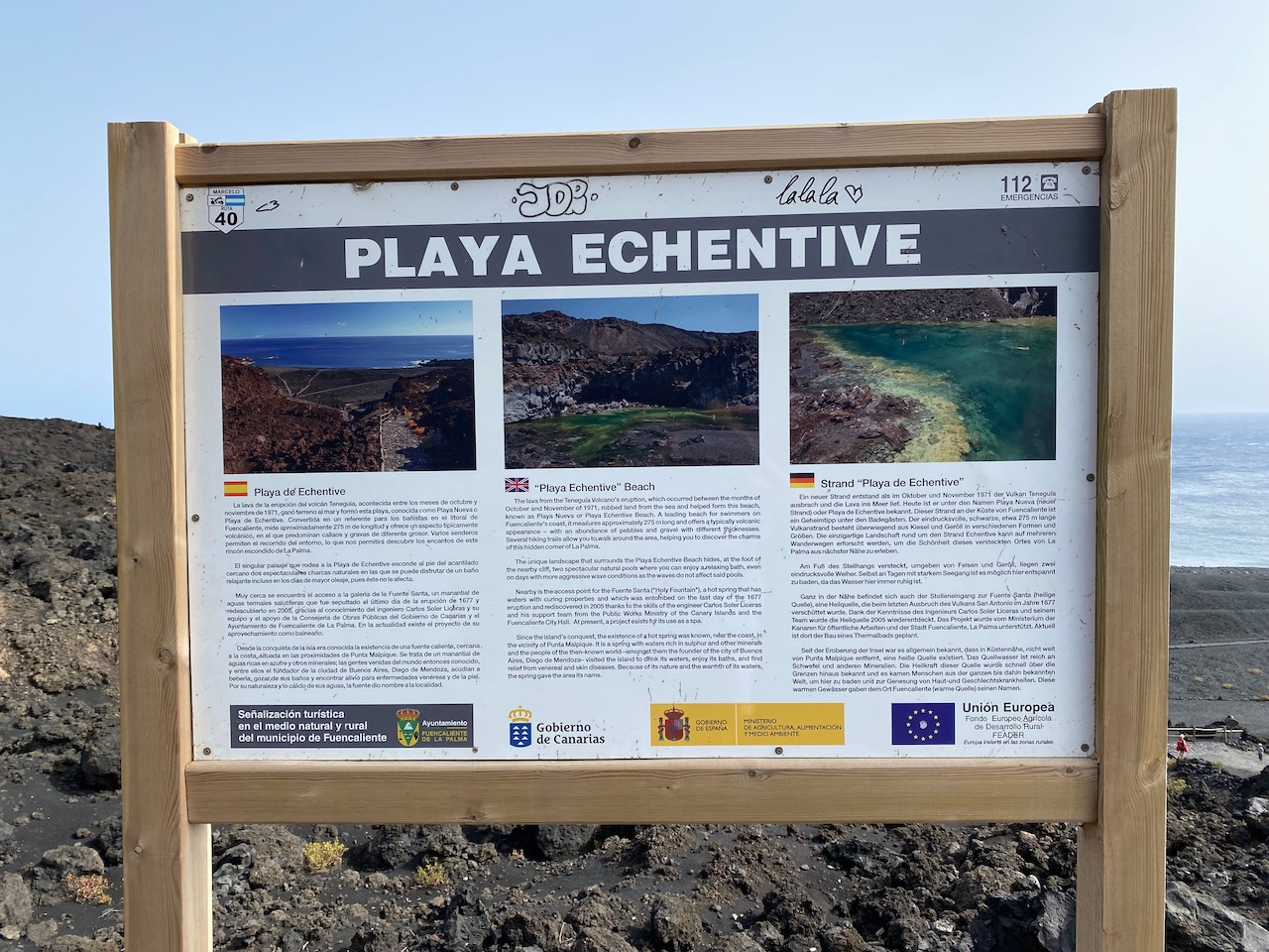 Info about the new beach