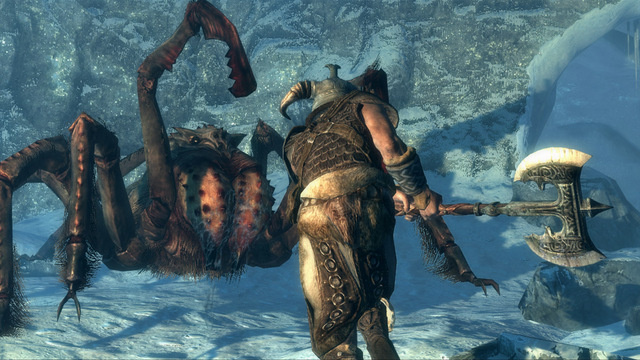 The Dreaded Giant Spider from Elder Scrolls V: Skyrim