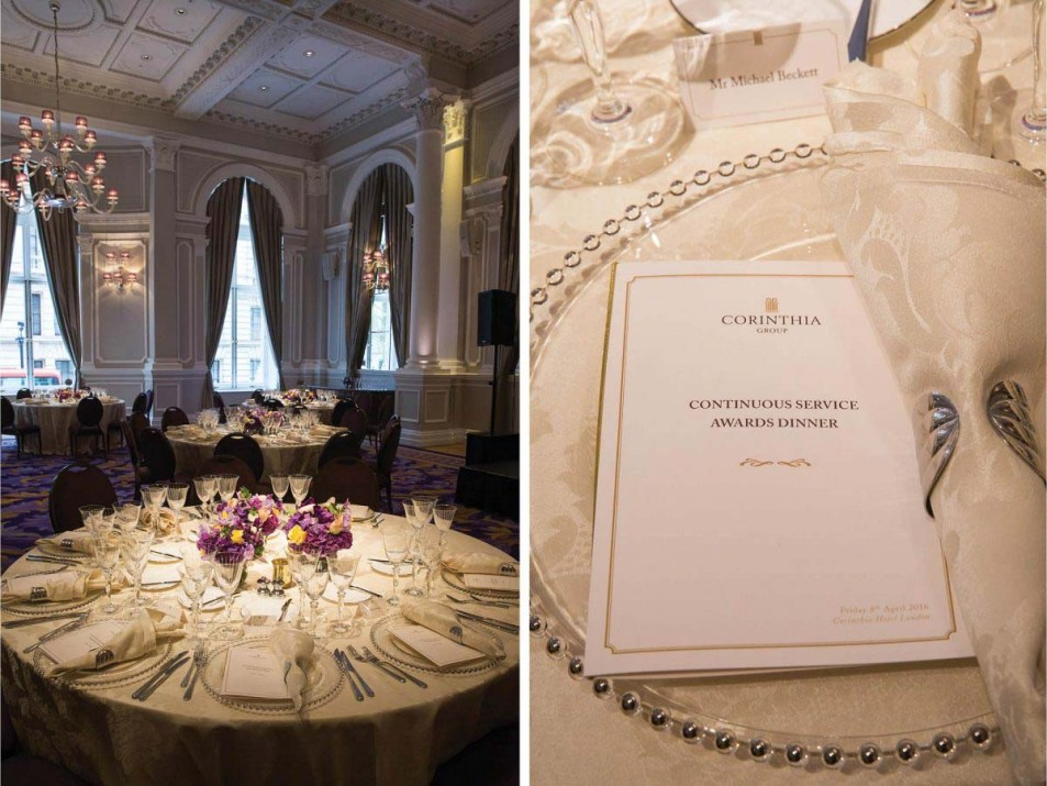 Long Service Awards Event Photography for Corinthia Hotel  by Cameo Photography London 01b