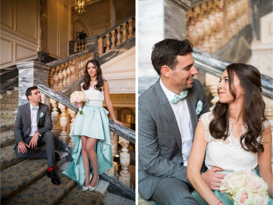 Wedding Photography at The Landmark London Florian & Imane26