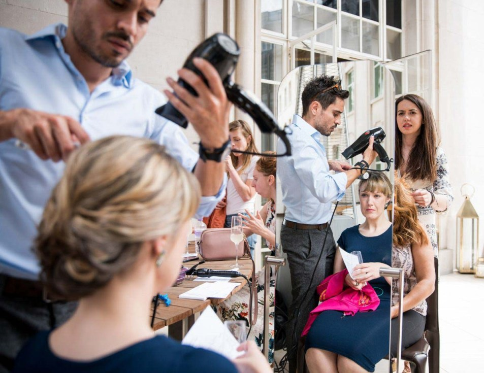 Event Photographer London at Cafe Royal for Brides Magazine 14