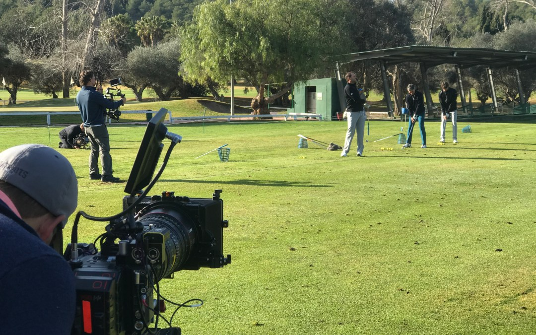 Golf Channel US with golf star Sergio García Feb. 2018