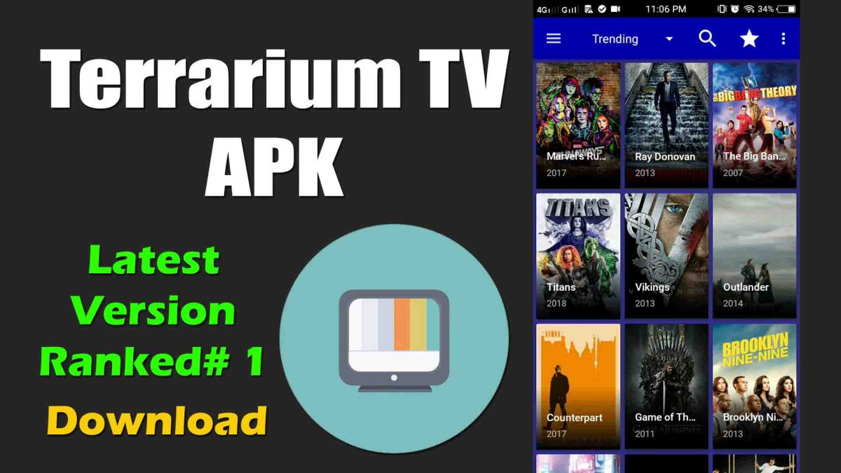 Terrarium TV Apk Download on Android, PC Windows, Firestick, iOS