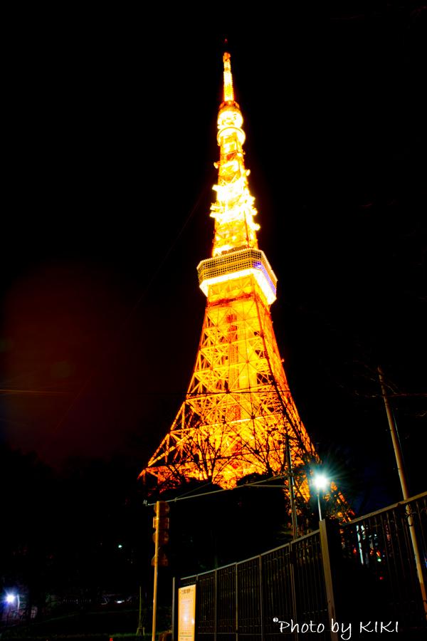 東京タワー夜景撮影