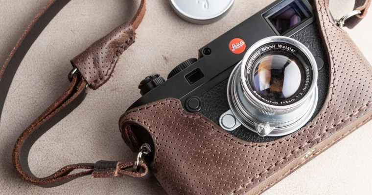 angelo pelle Half Case for Leica M10 <br>ライカをレザーで覆う矜持