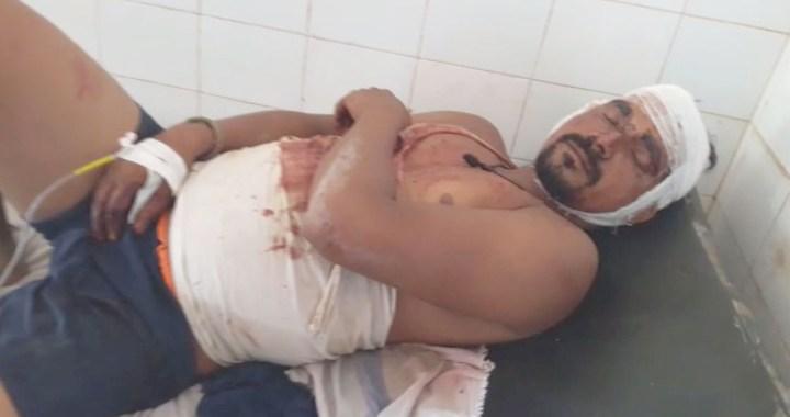 लालगंज के दो पक्षों में हुई मारपीट, दर्जन भर लोग घायल