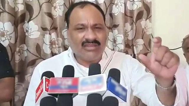 कांग्रेस विधायक ने षडयंत्र रचने का लगाया आरोप, वीडियो हुआ था वायरल