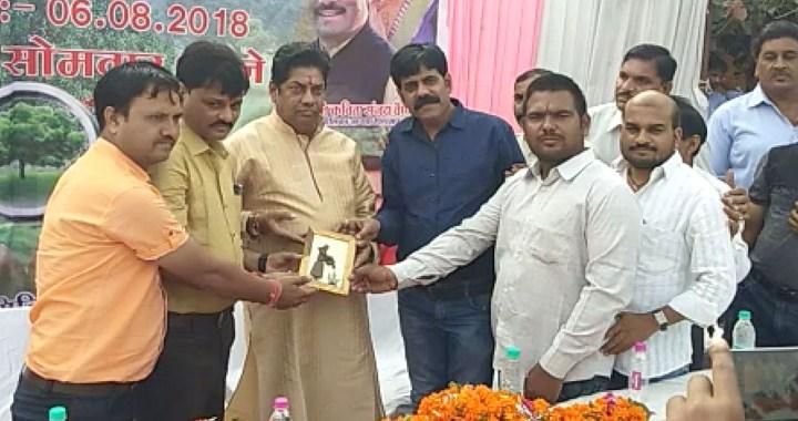 पीथमपुर के वार्ड 14 में वृक्षारोपण हुआ, राज्य मंत्री दर्जा प्राप्त योगेंद्र महंत मौजूद रहे