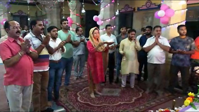हरिद्वार SP सिटी ममता बोहरा श्रीगणेश आरती में शामिल हुई