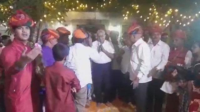 सीरवी समाज धर्मगुरू का पुणे में हुआ भव्य स्वागत
