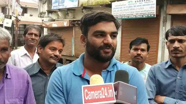 चांचौड़ा में भारत बंद रहा सफल