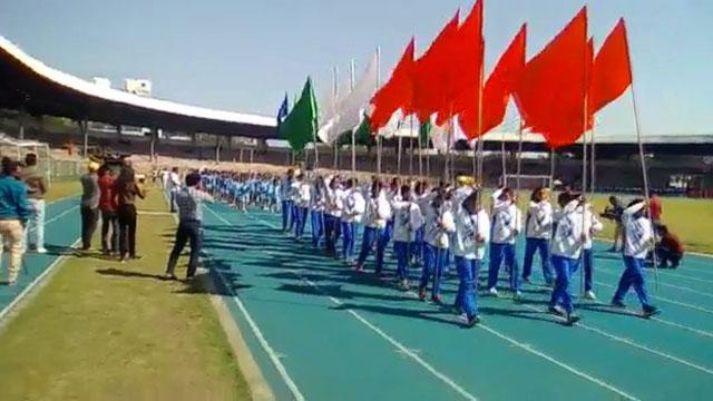 भोपाल तात्या टोपे स्टेडियम में खेल प्रतियोगिता शुरू