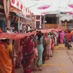 बुरहानपुर में इच्छा देवी माता को चढ़ाई गई 121 मीटर लम्बी चुनरी