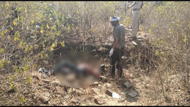 चंदेरी बायपास पर मिला शव, हत्या की आशंका