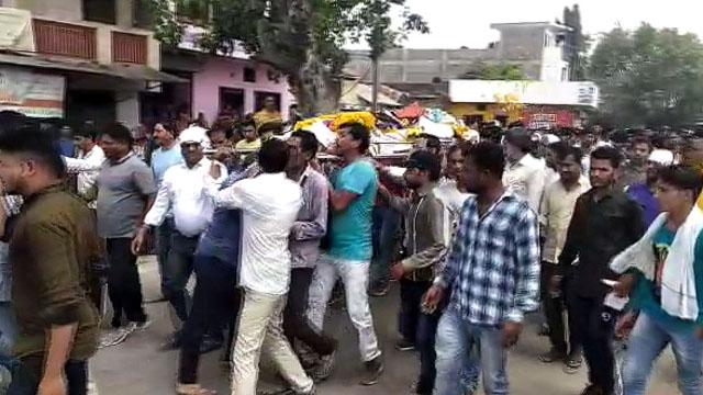 BJP कार्यकर्ता की हुई हत्या, कांग्रेस कार्यकर्ताओं पर हत्या का आरोप