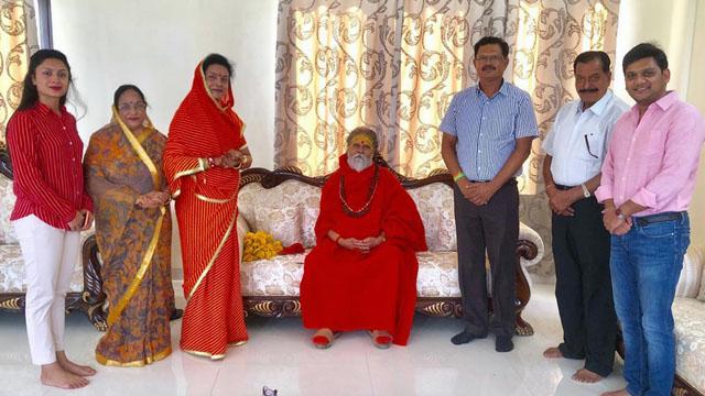 Narendra Giri Maharaj in vidisha