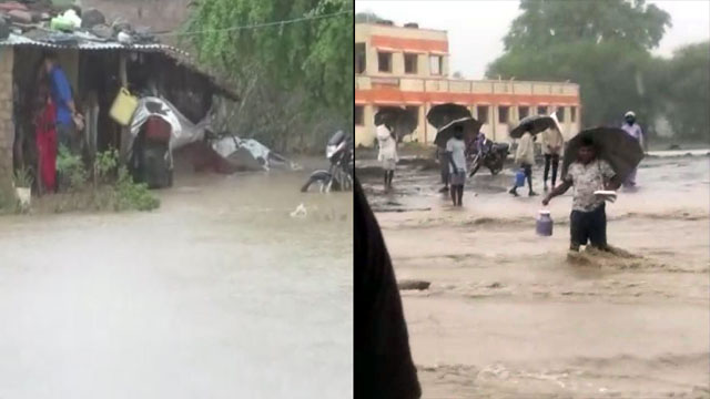 Heavy Rain in Dhar