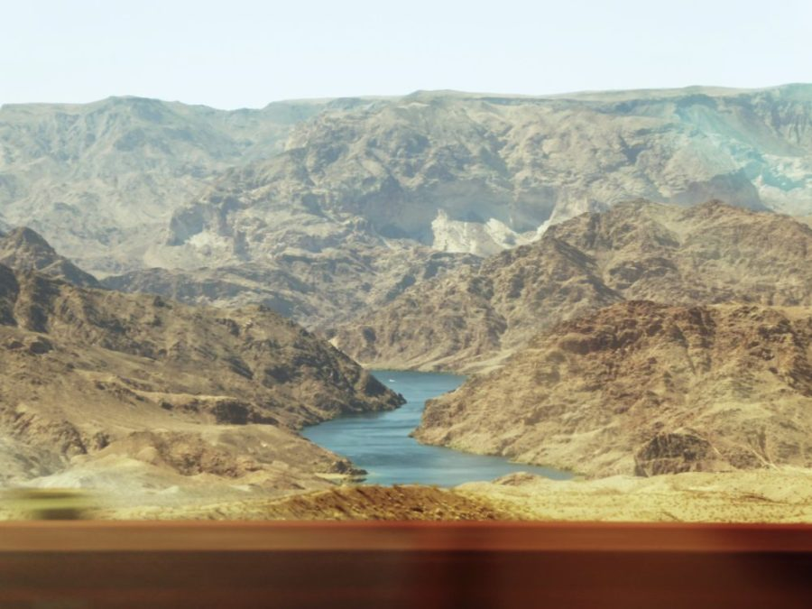 A view of part of the Colorado River