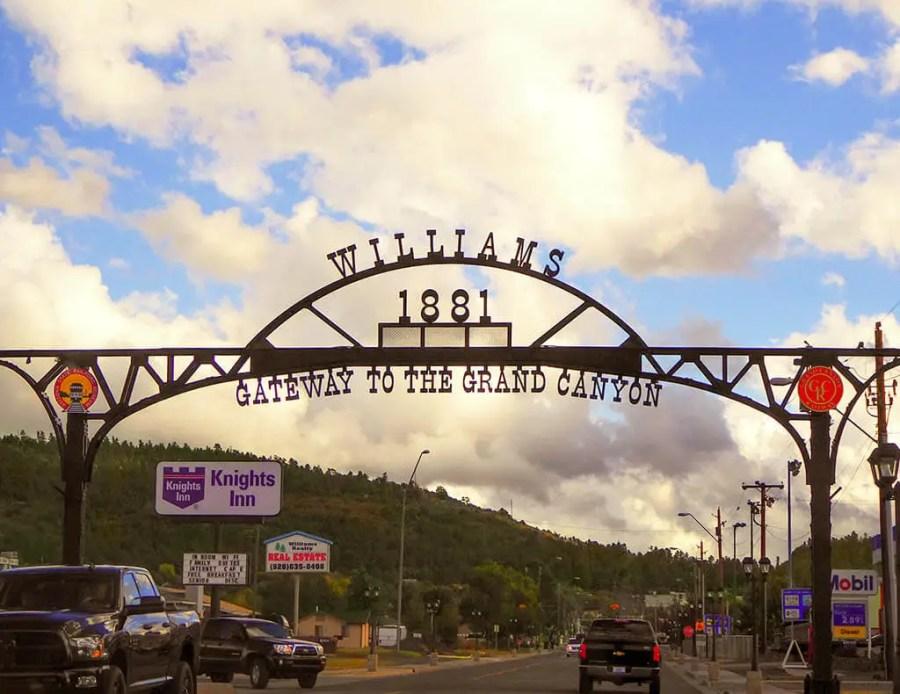 Williams Arizona, Gateway to the Grand Canyon