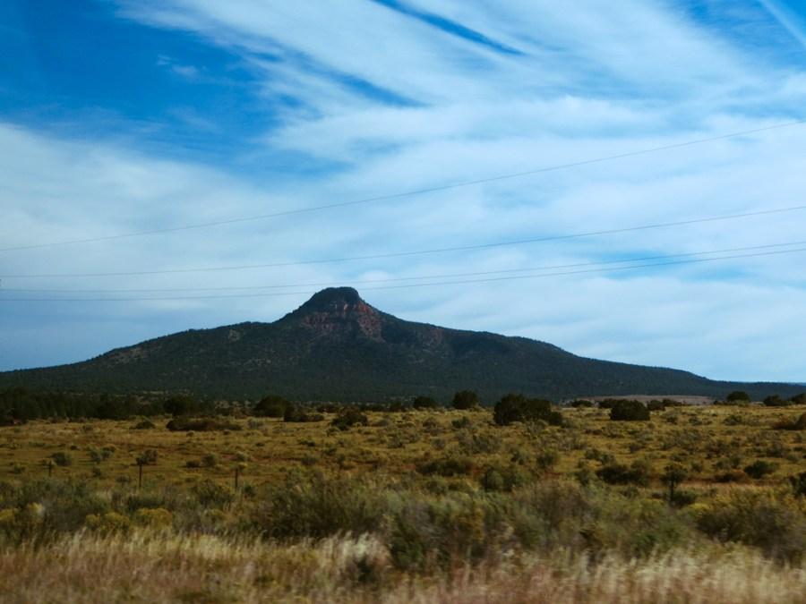 Mountain near Grand Canyon