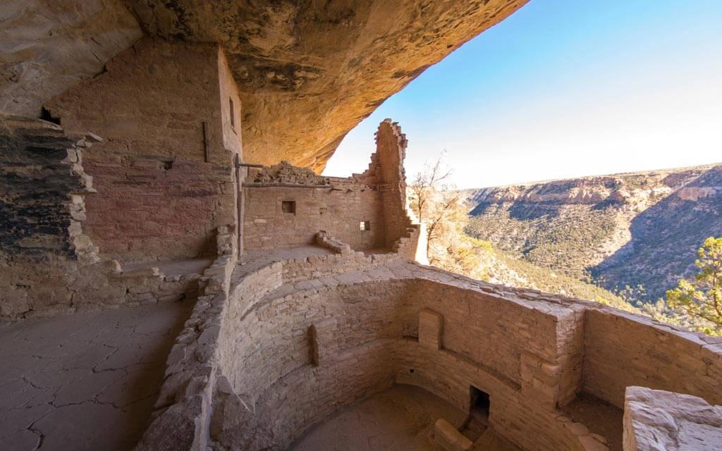 Mesa Verde National Park Balcony House Tour