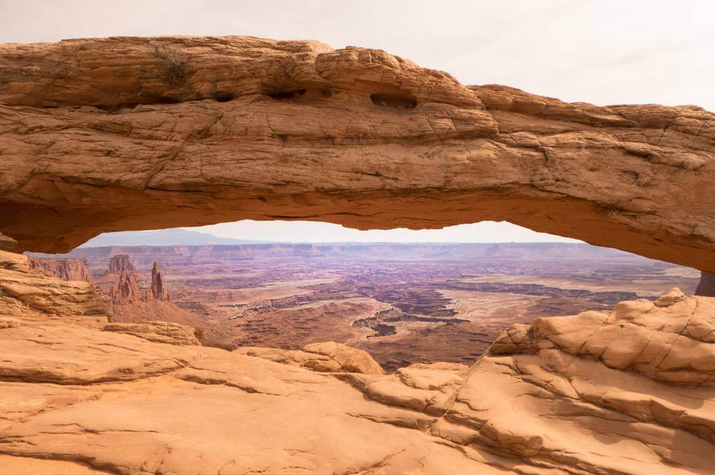 Mesa Arch Trail at Canyonlands National Park