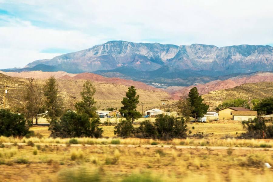 landscape in Utah