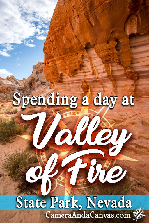 Valley of Fire state park in Nevada is close to Las Vegas. It makes a great day trip!