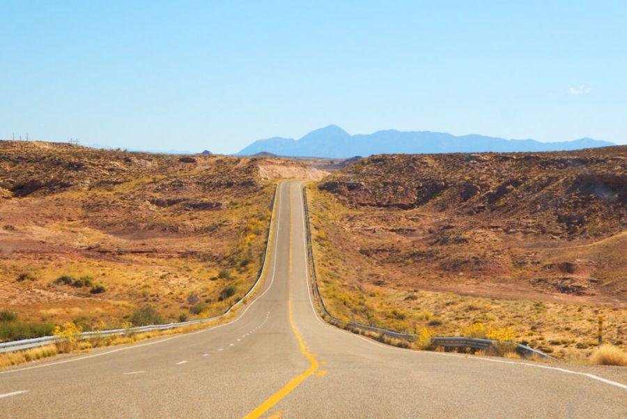 South eastern Utah on route 162